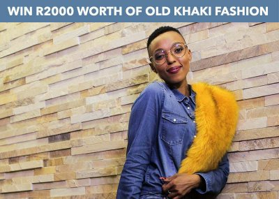 Win A R2000 Old Khaki Gift Card