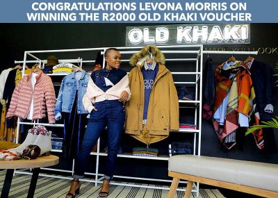 Win R2000 worth of Old Khaki fashion