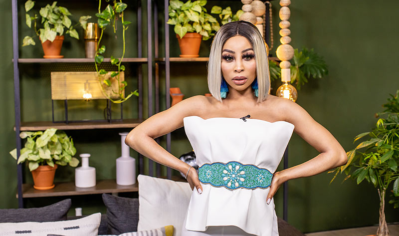 Khanyi Mbau on Presenter Search