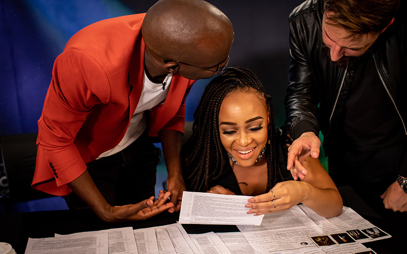Presenter Search on 3 Expresso Edition Judges choose the Top 10