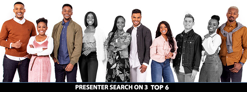 Presenter Search on 3 Top 6