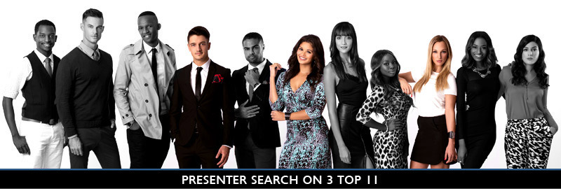 Presenter Search on 3 Top 3